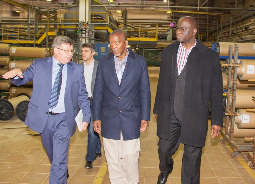 Официальный визит представителей Республики Замбия