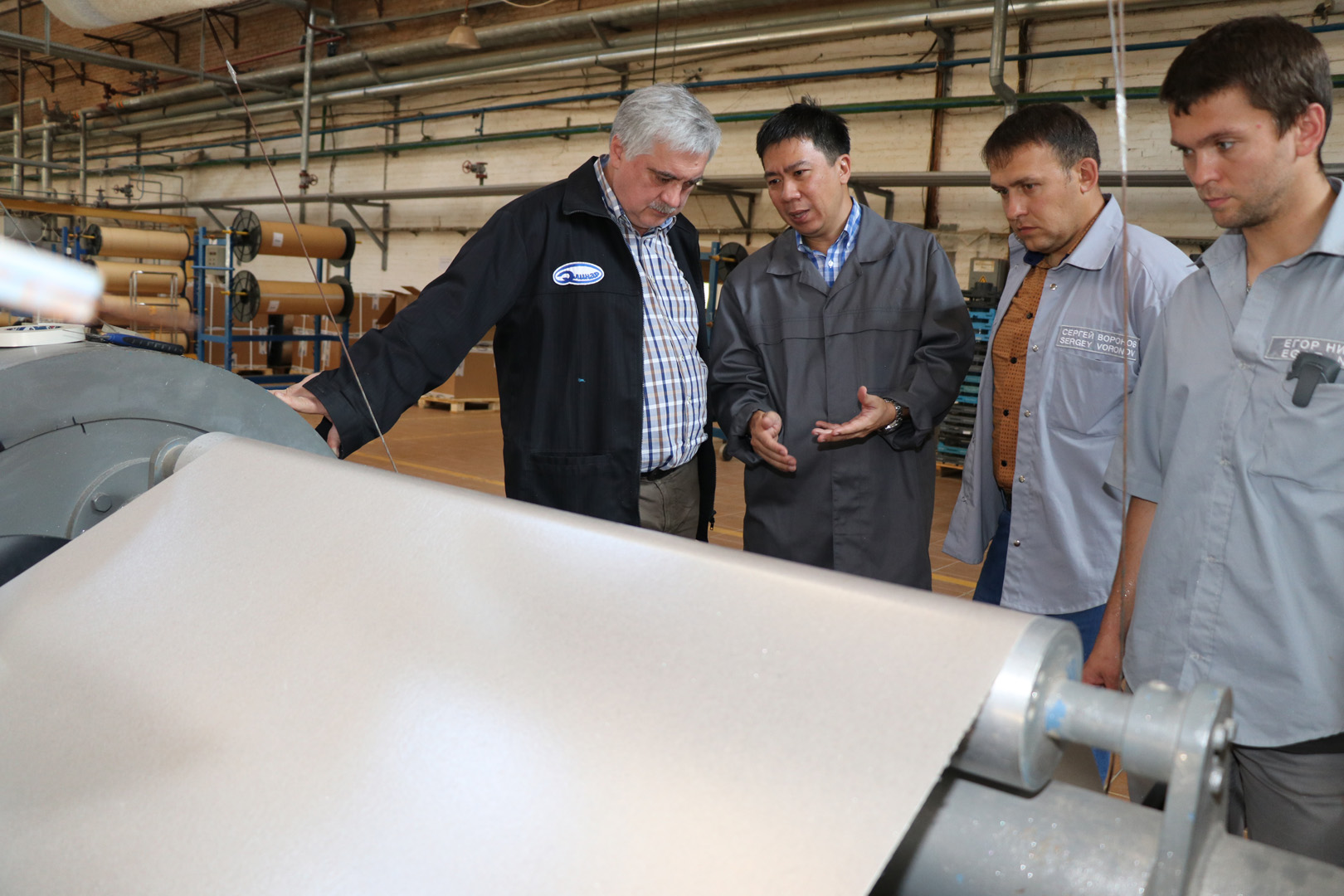 Завоевываем азиатский рынок электроизоляционных материалов