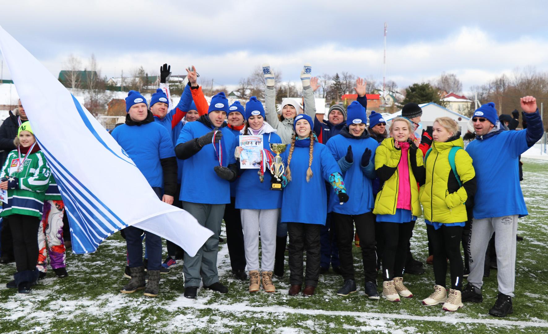 Заводчане — абсолютные чемпионы спартакиады!